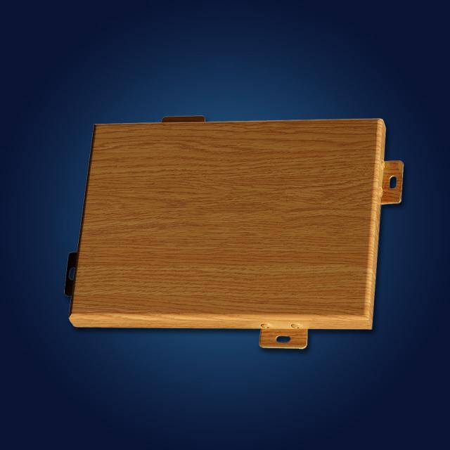 橡木纹理铝单板