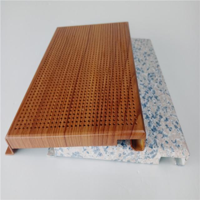 热转印类勾搭铝单板