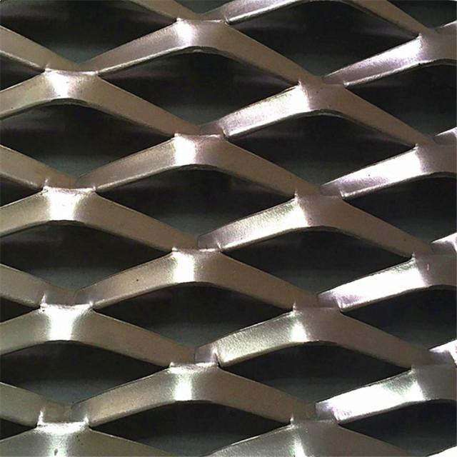 铝板拉网冲孔细节