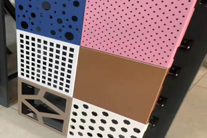 各种冲孔铝单板