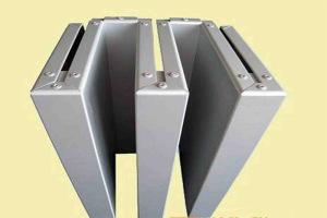 弓字形转角铝单板