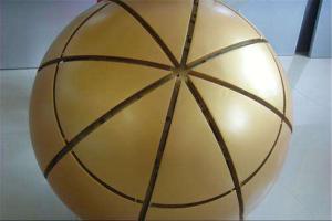 金色双曲球形铝单板