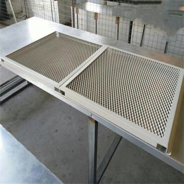 吊顶勾搭铝拉网板