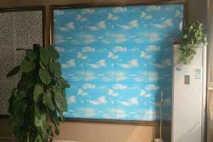 600*600蓝天白云铝扣板