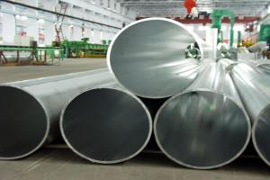 超厚挤压铝圆管型材