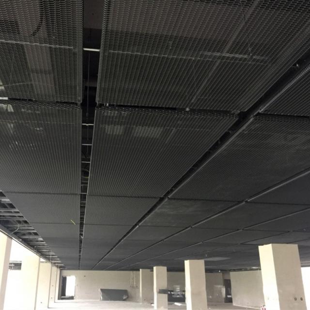 停车场专用吊顶铝拉网板