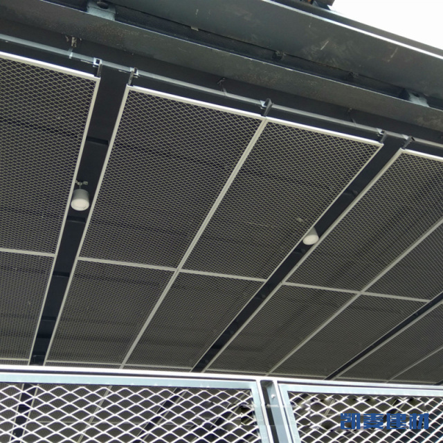 办公室开放式吊顶拉网铝单板
