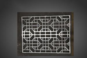 中式窗花雕刻铝单板