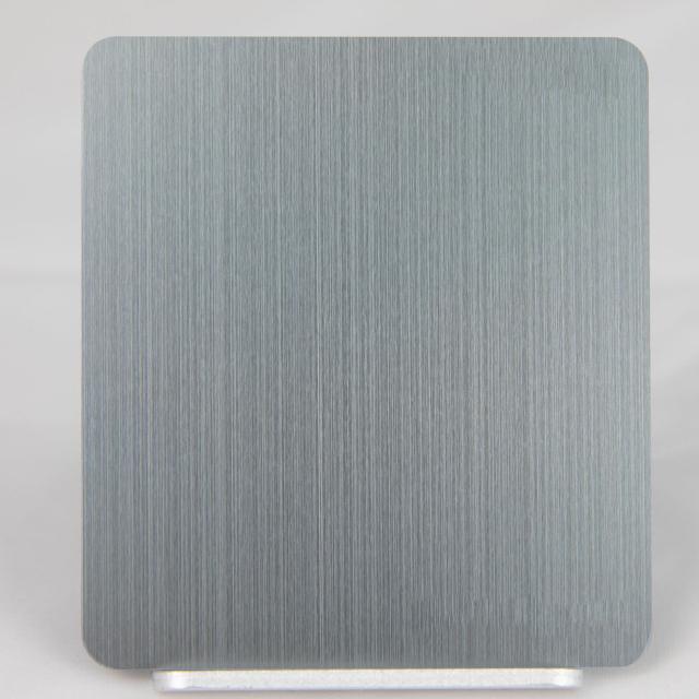 浅灰色氧化拉丝铝板