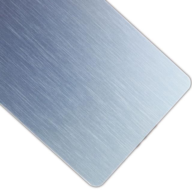 蓝灰色哑光拉丝氧化铝板