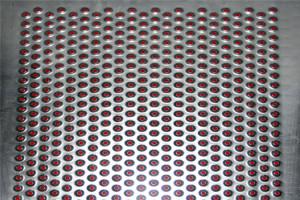 凹孔铝单板