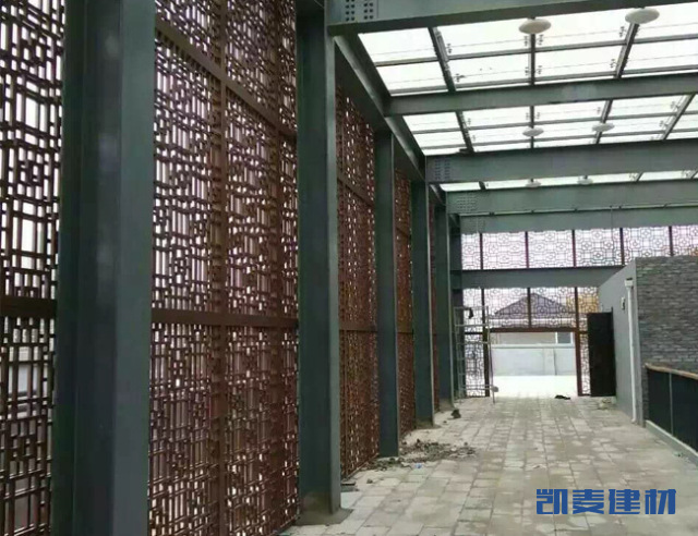 立面格栅_幕墙铝单板_吊顶铝单板_铝方通_陶瓷/烤瓷铝板