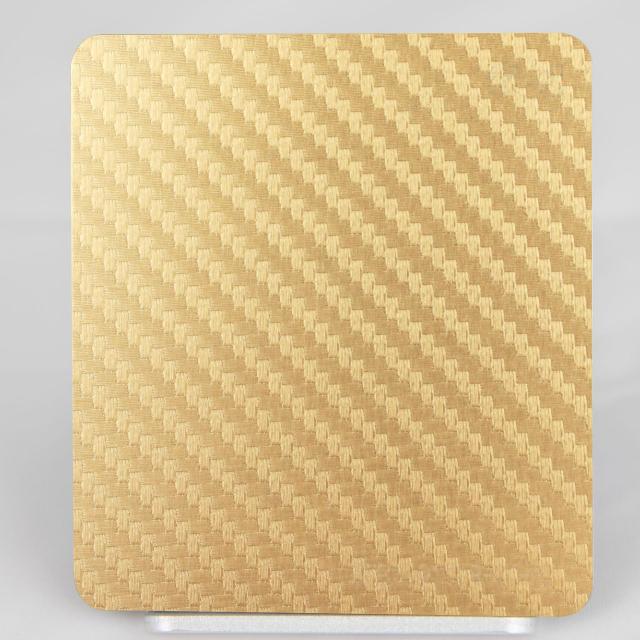 金色织网氧化铝板