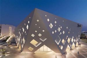博物馆造型外墙铝单板