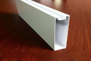 白色铝型材吊顶