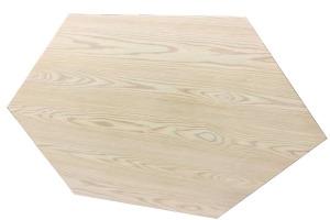 六边形木纹铝单板