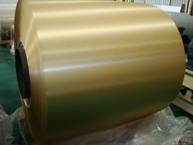 金色阳极氧化铝卷