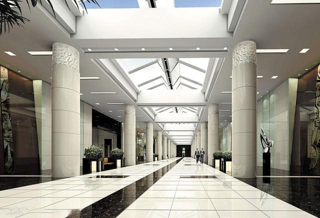 高光陶瓷铝单板圆形包柱