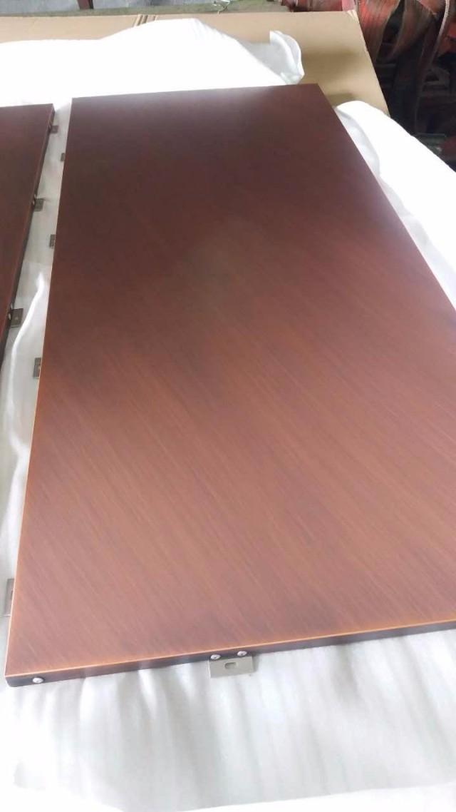 仿古铜色电镀铝板