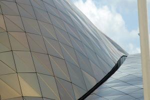 幕墙天面双曲铝单板