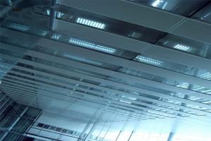 大堂吊顶冲孔铝天花板