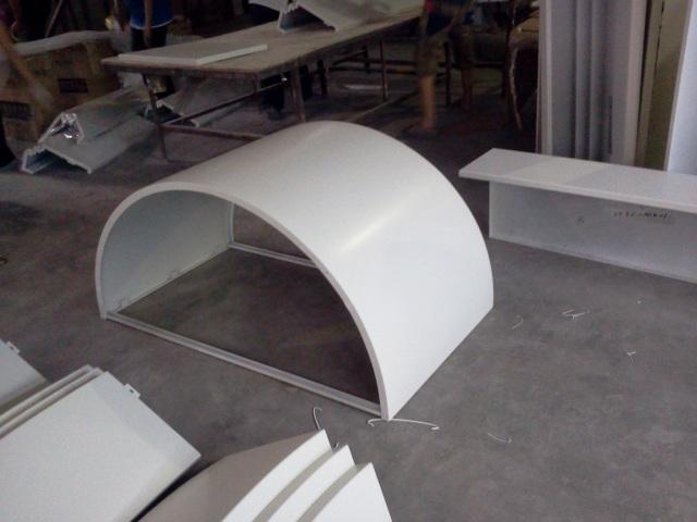 1.2~1.5mm_立面格栅_幕墙铝单板_吊顶铝单板_铝方通_陶瓷/烤瓷铝板