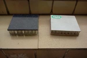 真石材铝蜂窝复合板