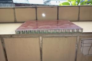滚涂木纹铝板复合铝蜂窝