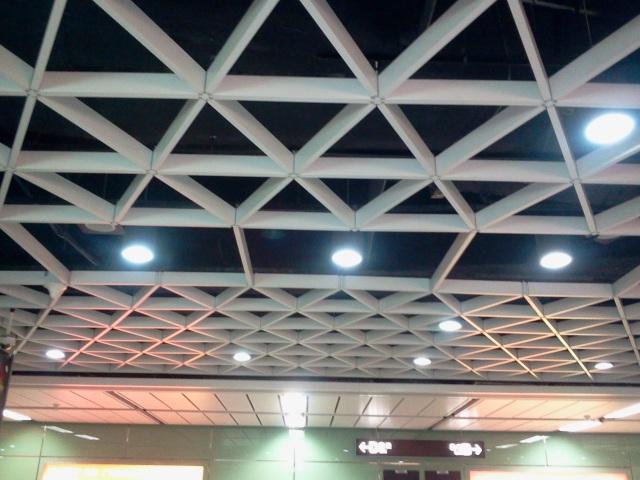 六边形型材类铝格栅