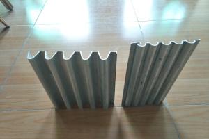 各式波浪形铝型材墙板