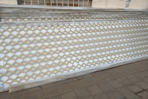 X形激光雕刻超尖铝单板