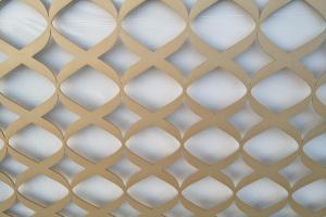 激光雕刻铝单板内角超尖