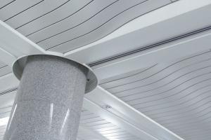 弧形C型铝条扣吊顶