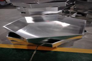六边形铝单板吊顶背面