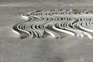 S形弧形铝方通