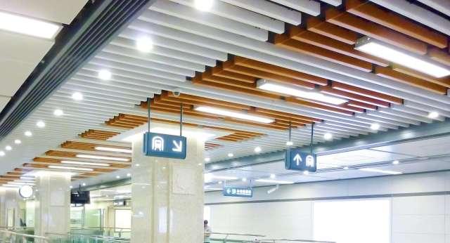 机场铝条扣吊顶