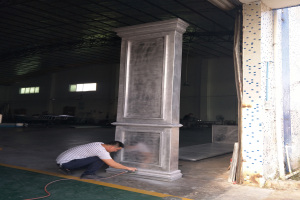 凹凸造型铝单板碑
