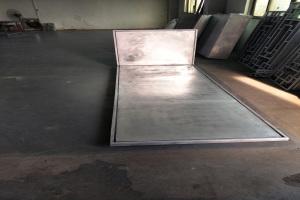 铝单板正面和背板