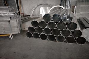 大口径铝圆管型材