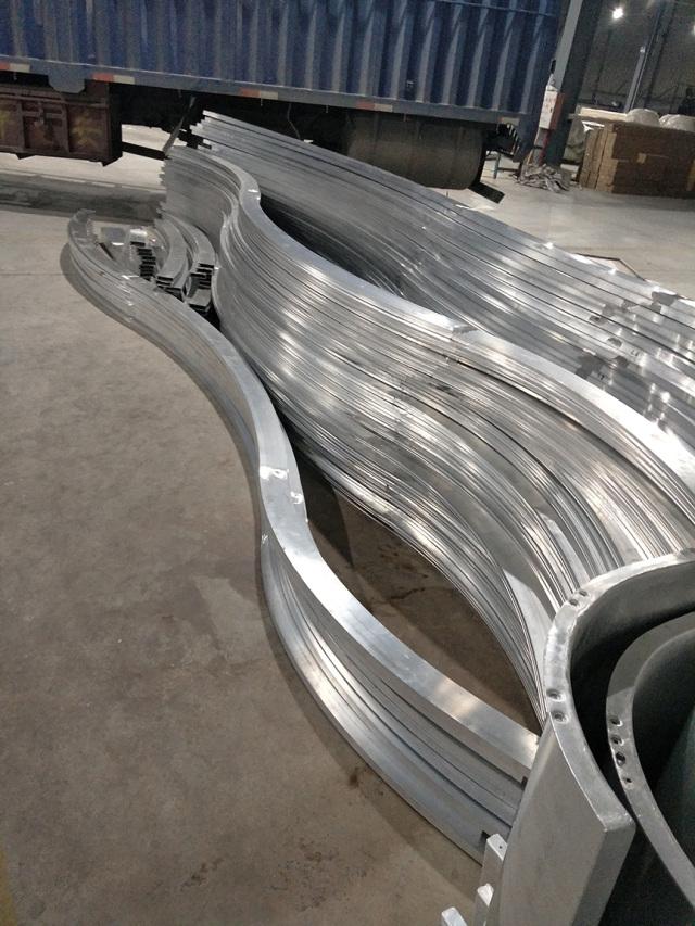S型拉弯铝型材