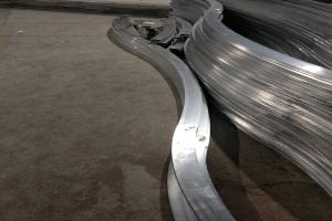S形铝方管弯弧型材