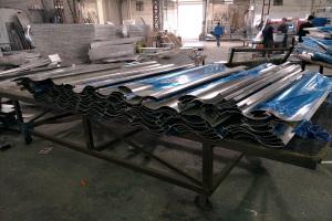 S形弧形铝单板