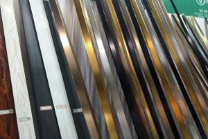 各种镀金氧化拉丝铝边角线