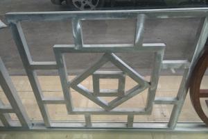 中式回字型铝窗花