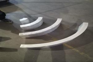 WiFi造型弧形铝方通