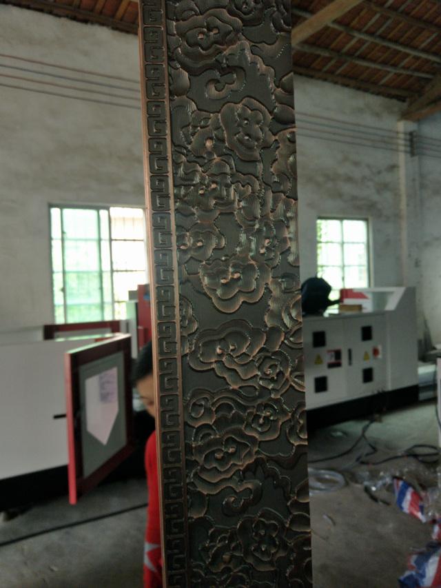 古铜色浮雕铝牌匾