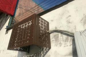 镂空铝板空调罩