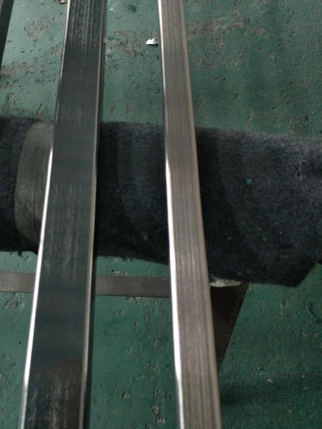 铝方管电镀仿古铜拉丝处理