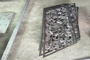 铝合金浮雕铝窗花