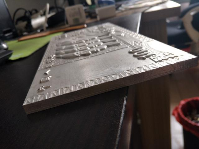 铝合金浮雕工艺品